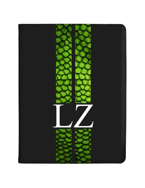 Racing Stripes - Lizard tablet case available for all major manufacturers including Apple, Samsung & Sony