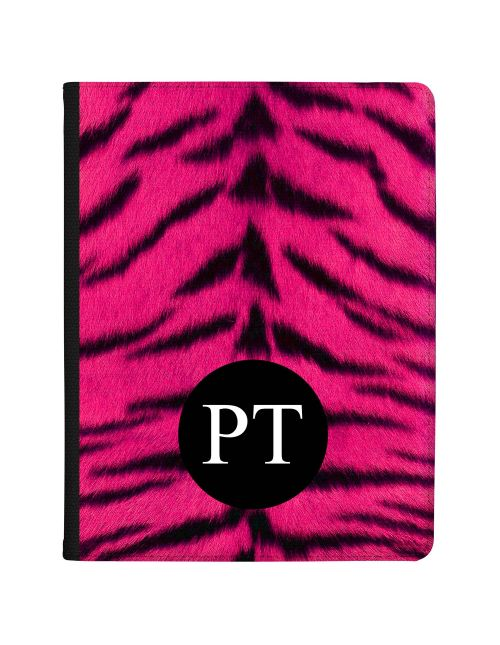 Tiger Print - Hot Pink tablet case available for all major manufacturers including Apple, Samsung & Sony