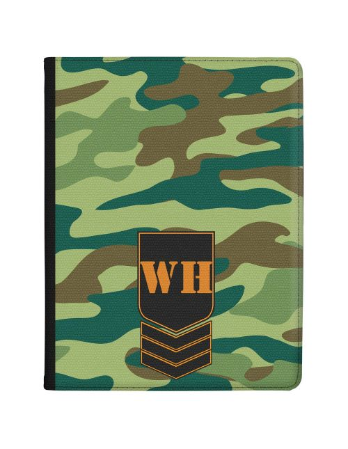 Green Jungle Camo tablet case available for all major manufacturers including Apple, Samsung & Sony