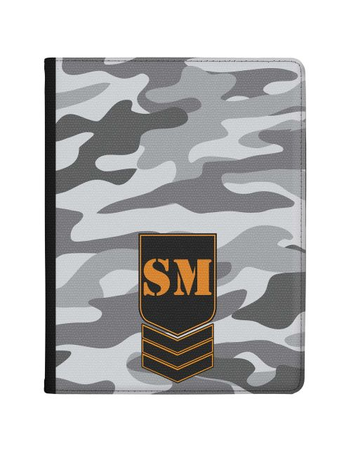 Grey Camo tablet case available for all major manufacturers including Apple, Samsung & Sony