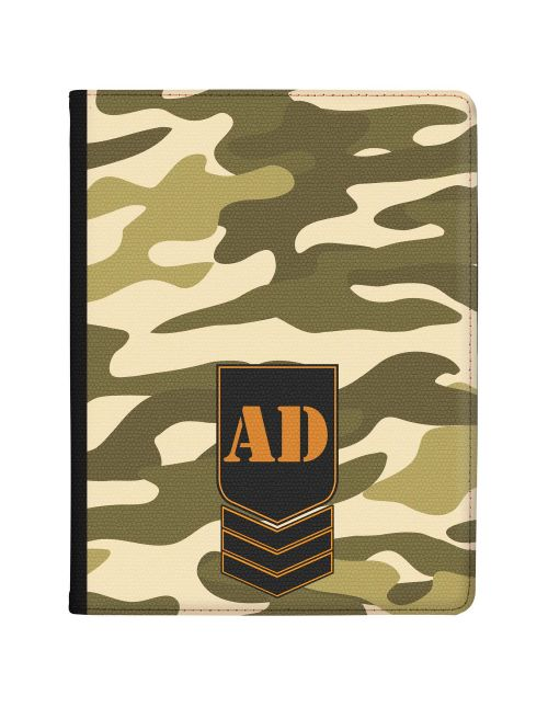 Olive Green Jungle Camo tablet case available for all major manufacturers including Apple, Samsung & Sony