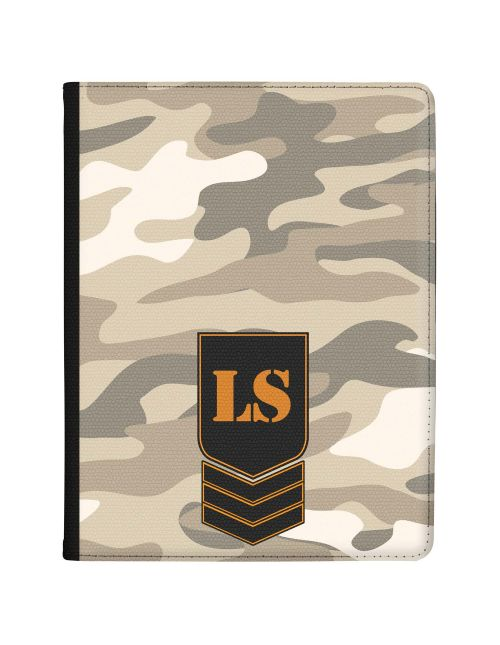 Light Grey Desert Camo tablet case available for all major manufacturers including Apple, Samsung & Sony