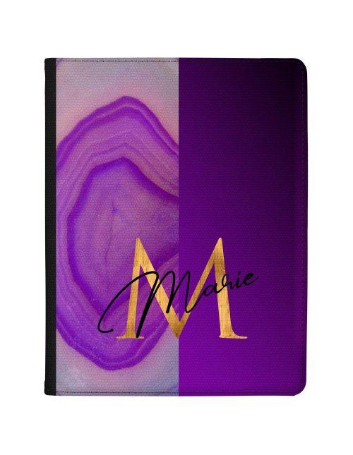 Half Dark Purple Agate Half Dark Purple tablet case available for all major manufacturers including Apple, Samsung & Sony