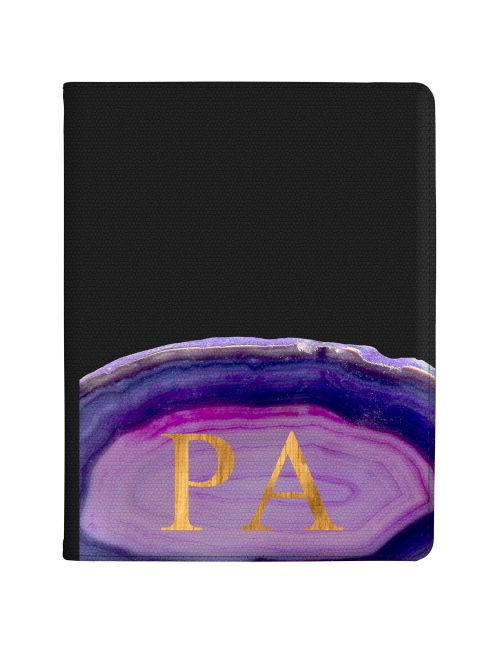 Purple And Pink Agate tablet case available for all major manufacturers including Apple, Samsung & Sony