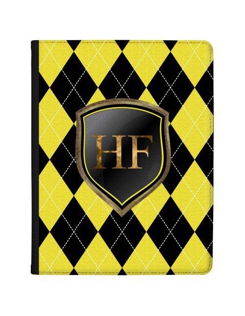 Black And Yellow Coats Of Arms tablet case available for all major manufacturers including Apple, Samsung & Sony