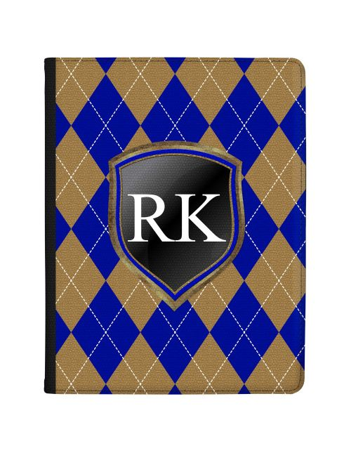 Blue And Bronze Coats Of Arms tablet case available for all major manufacturers including Apple, Samsung & Sony