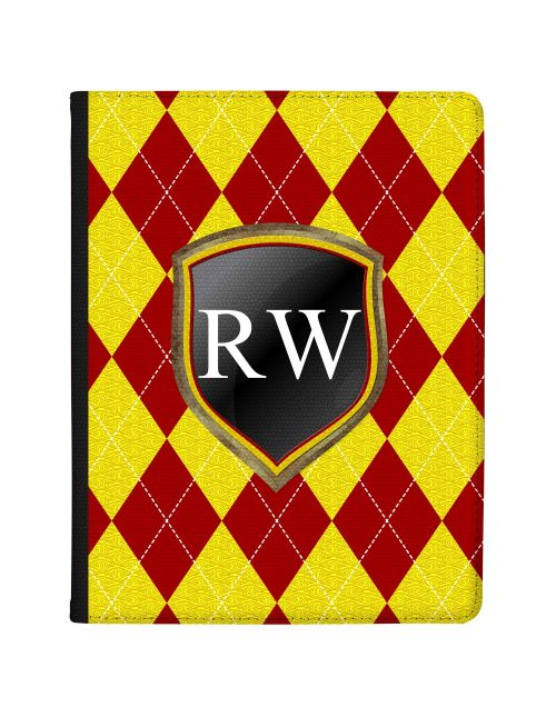 Crimson And Gold Coats Of Arms tablet case available for all major manufacturers including Apple, Samsung & Sony