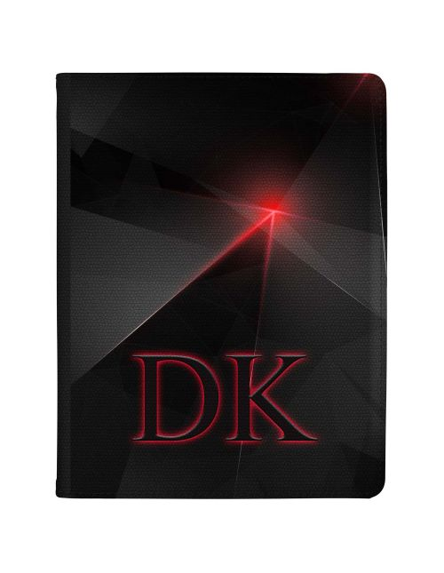 Black And Red Geometric Pinpoint tablet case available for all major manufacturers including Apple, Samsung & Sony