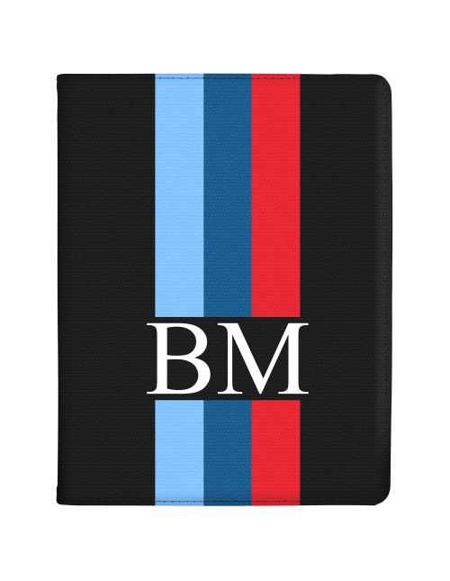 3 Tone Racing Stripes tablet case available for all major manufacturers including Apple, Samsung & Sony