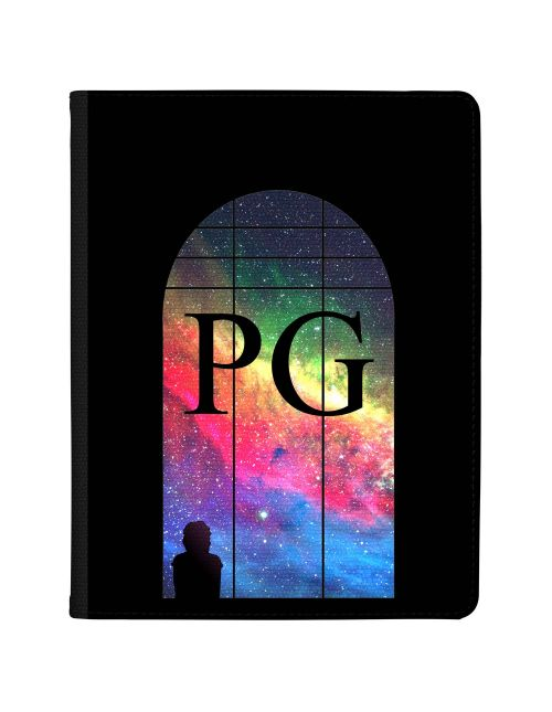 Window Looking Out On A Rainow Galaxy tablet case available for all major manufacturers including Apple, Samsung & Sony