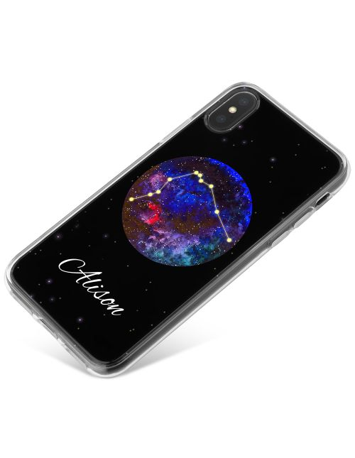 Astrology- Aquarius Sign phone case available for all major manufacturers including Apple, Samsung & Sony