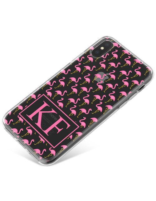 Pink Flamingos phone case available for all major manufacturers including Apple, Samsung & Sony