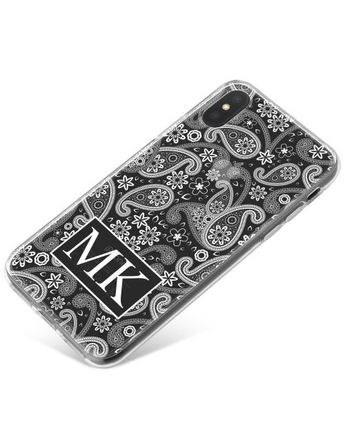 White Floral Pattern phone case available for all major manufacturers including Apple, Samsung & Sony