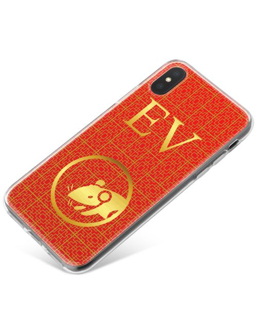 Chinese Zodiac- Year of the Rat phone case available for all major manufacturers including Apple, Samsung & Sony