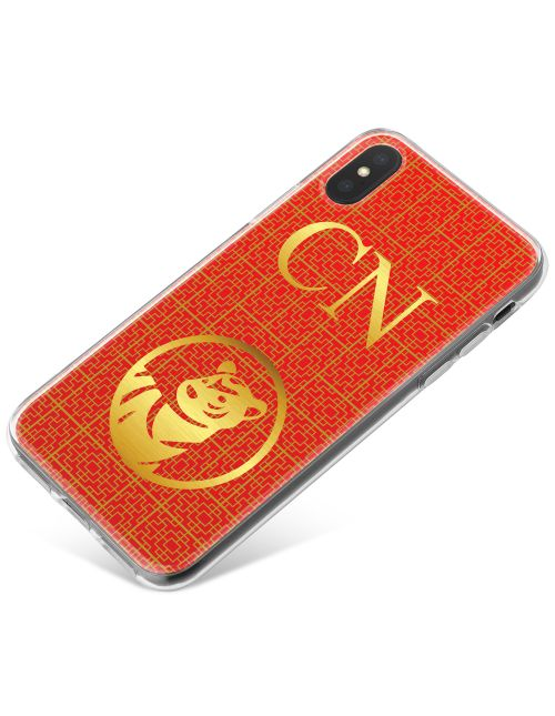Chinese Zodiac- Year of the Tiger phone case available for all major manufacturers including Apple, Samsung & Sony