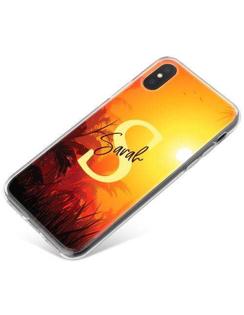 Sunset in the Jungle phone case available for all major manufacturers including Apple, Samsung & Sony