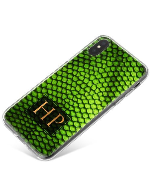 Lizard Skin - Emerald Green phone case available for all major manufacturers including Apple, Samsung & Sony