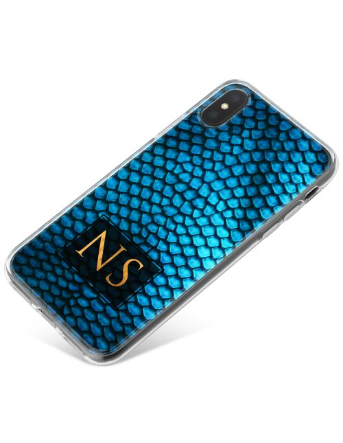 Lizard Skin - Sapphire Blue phone case available for all major manufacturers including Apple, Samsung & Sony