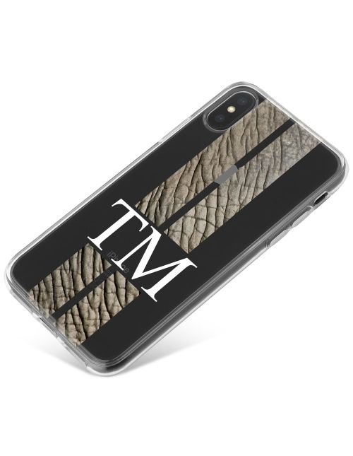 Racing Stripes - Elephant phone case available for all major manufacturers including Apple, Samsung & Sony