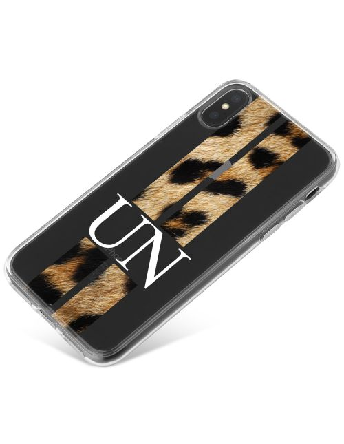 Racing Stripes - Jaguar phone case available for all major manufacturers including Apple, Samsung & Sony