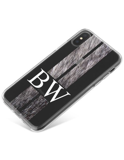 Racing Stripes - Wolf phone case available for all major manufacturers including Apple, Samsung & Sony