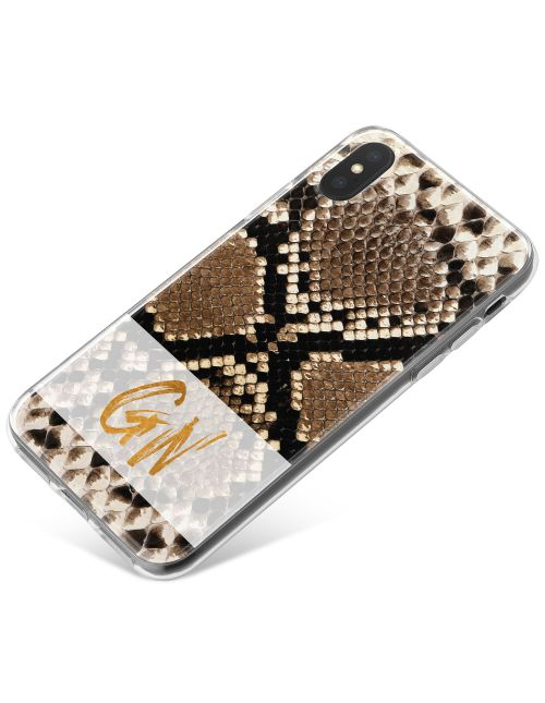 Rattlesnake Skin phone case available for all major manufacturers including Apple, Samsung & Sony