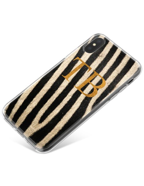 Zebra Print phone case available for all major manufacturers including Apple, Samsung & Sony