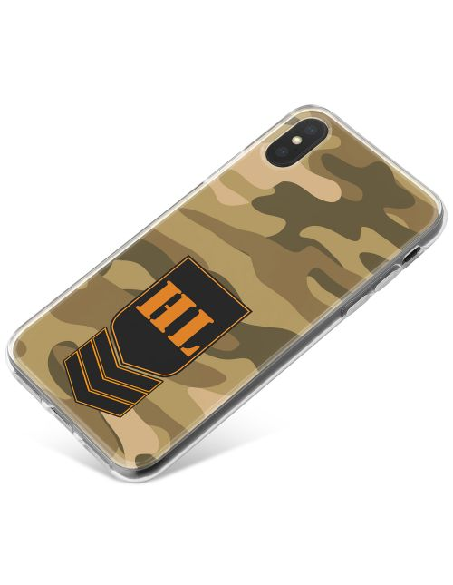 Desert Camo phone case available for all major manufacturers including Apple, Samsung & Sony