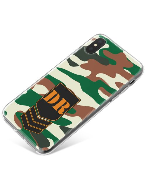 European Classic Camo phone case available for all major manufacturers including Apple, Samsung & Sony