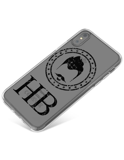 Hipster Beard With Classic Moustache phone case available for all major manufacturers including Apple, Samsung & Sony