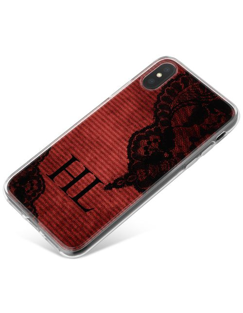 Dark Lace phone case available for all major manufacturers including Apple, Samsung & Sony