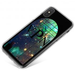 Window Looking Out On A Green Galaxy phone case available for all major manufacturers including Apple, Samsung & Sony