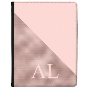 Pink Marble with a Pink Triangle tablet case available for all major manufacturers including Apple, Samsung & Sony
