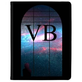 Window Looking Out On A Purple Galaxy tablet case available for all major manufacturers including Apple, Samsung & Sony