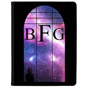 Window Looking Out On A Violet Galaxy tablet case available for all major manufacturers including Apple, Samsung & Sony