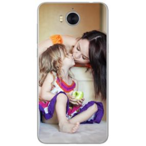 Personalised photo phone case for the Huawei Y6 2017