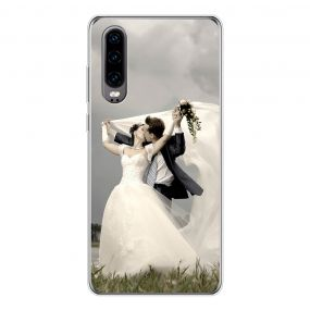 Personalised photo phone case for the Huawei P30