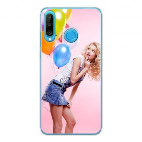Personalised photo phone case for the Huawei P30 Lite