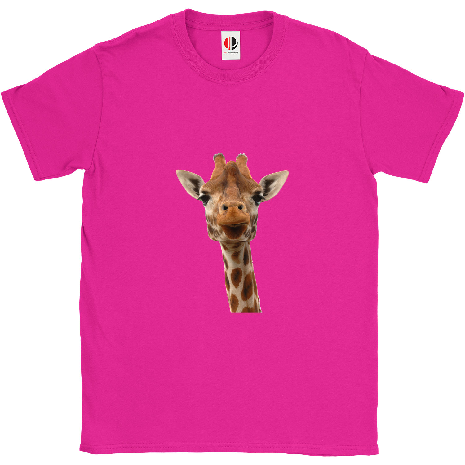 Kid's Hot Pink T-Shirt (9-11 Years Old)