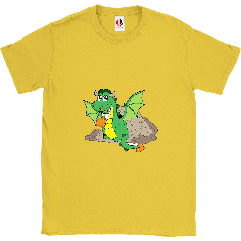 Kid's Yellow T-Shirt (9-11 Years Old)