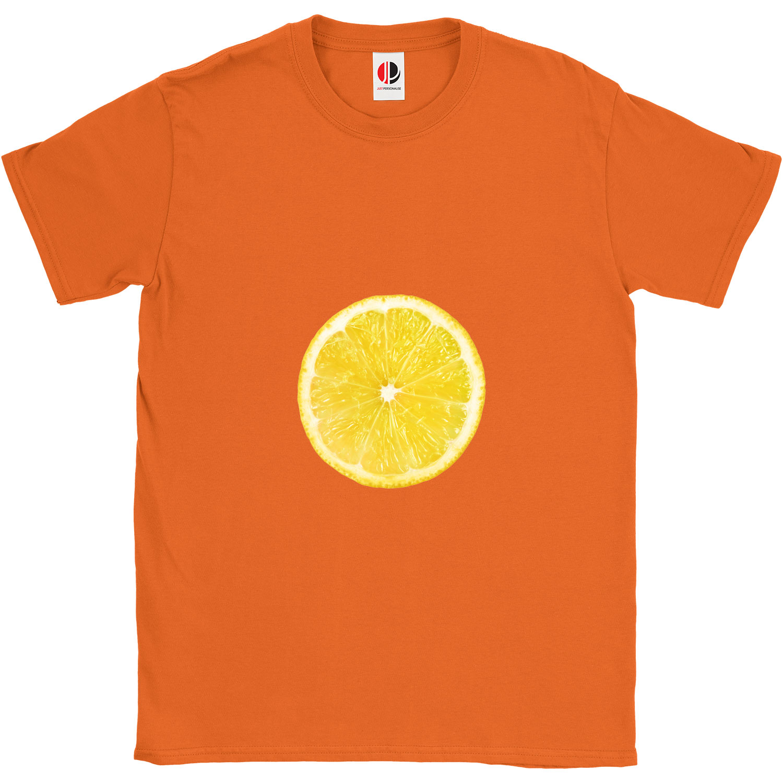 Kid's Orange T-Shirt (9-11 Years Old)