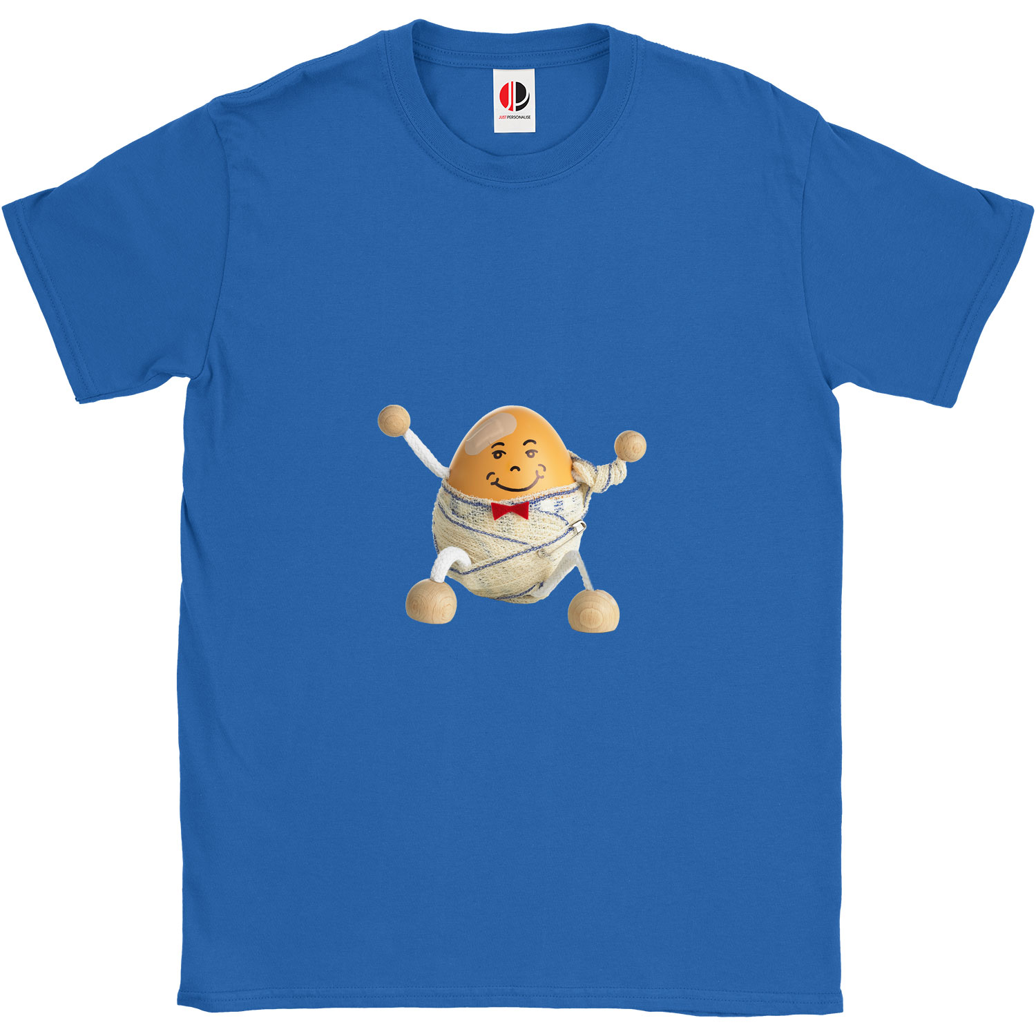 Kid's Royal Blue T-Shirt (9-11 Years Old)