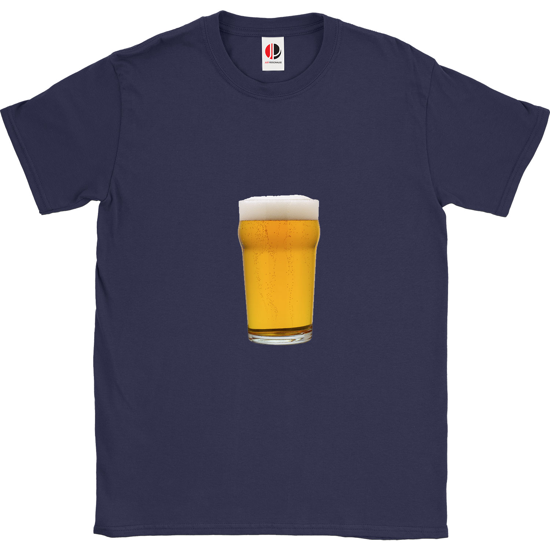 Men's Navy T-Shirt (2XLarge)