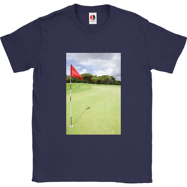 Men's Navy T-Shirt (Medium)