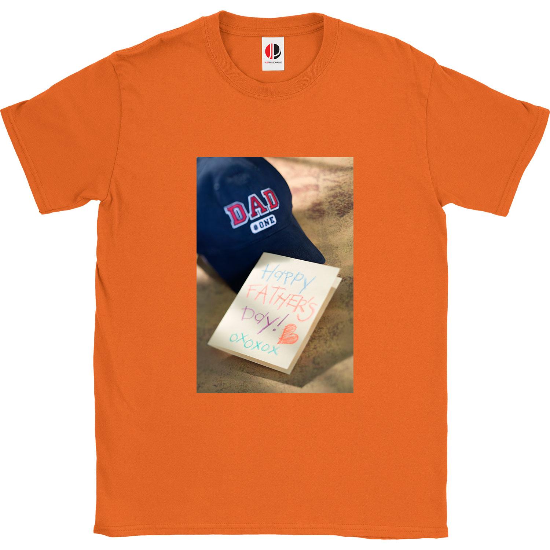 Men's Orange T-Shirt (Medium)