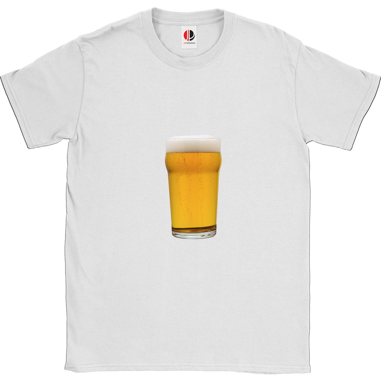 Men's White T-Shirt (Medium)