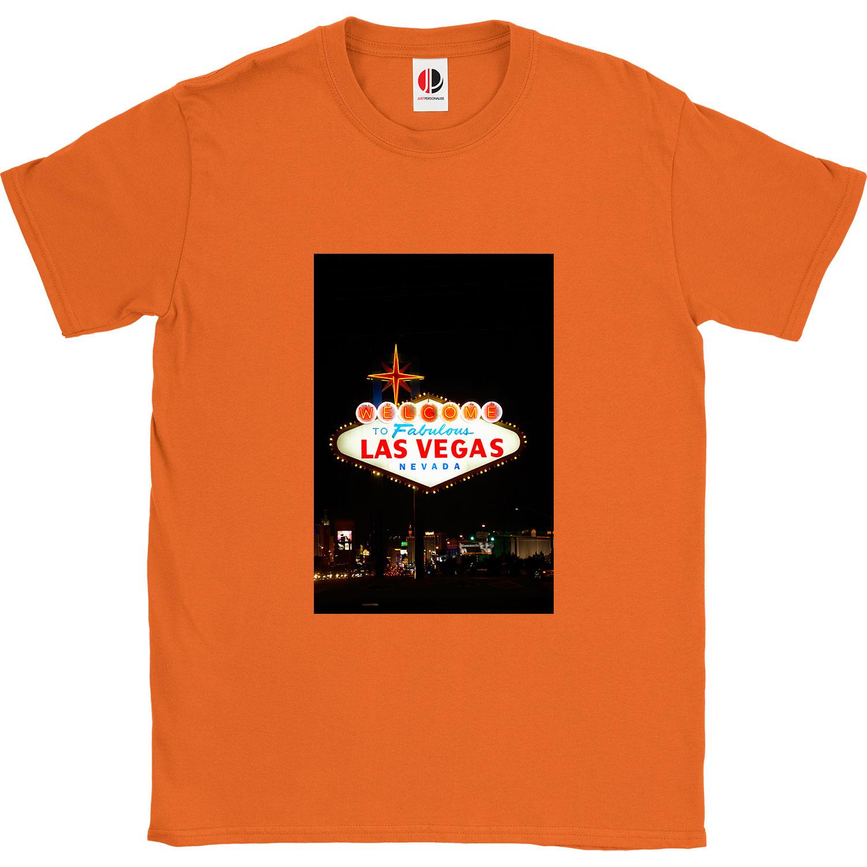 Men's Orange T-Shirt (XLarge)