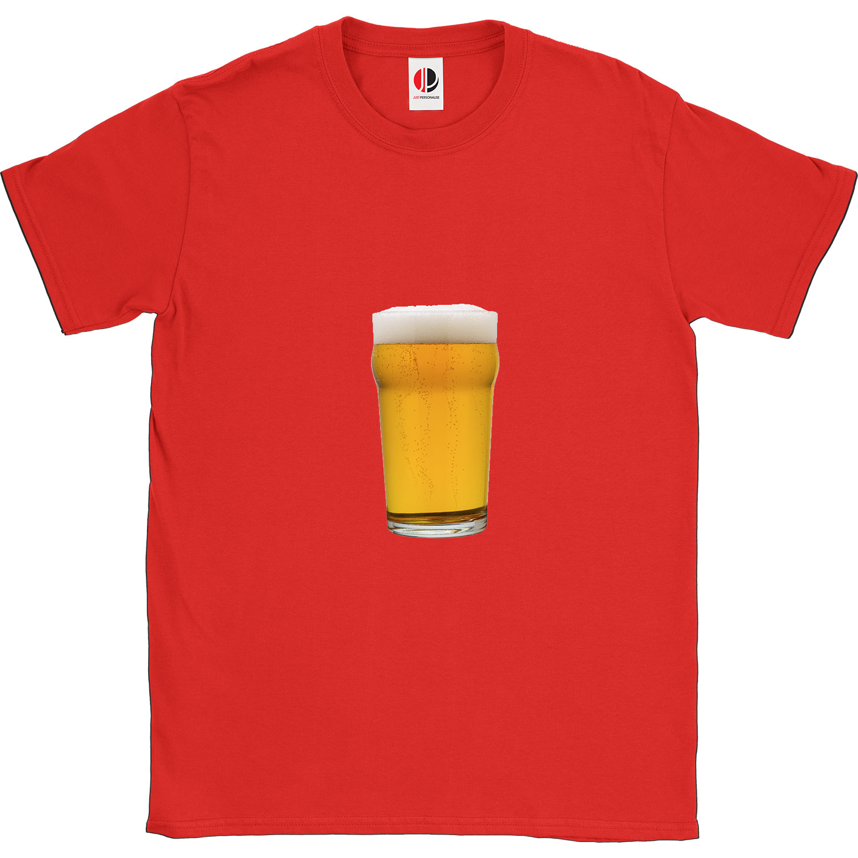 Men's Red T-Shirt (XLarge)