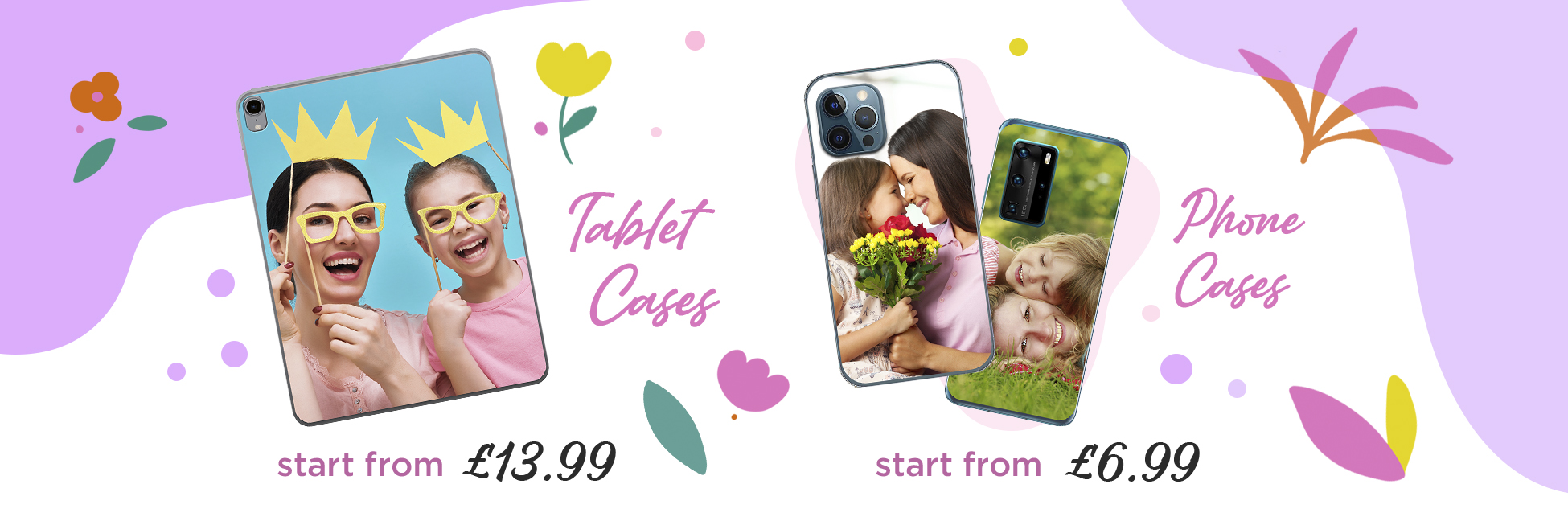Personalised iPhone & iPad Cases