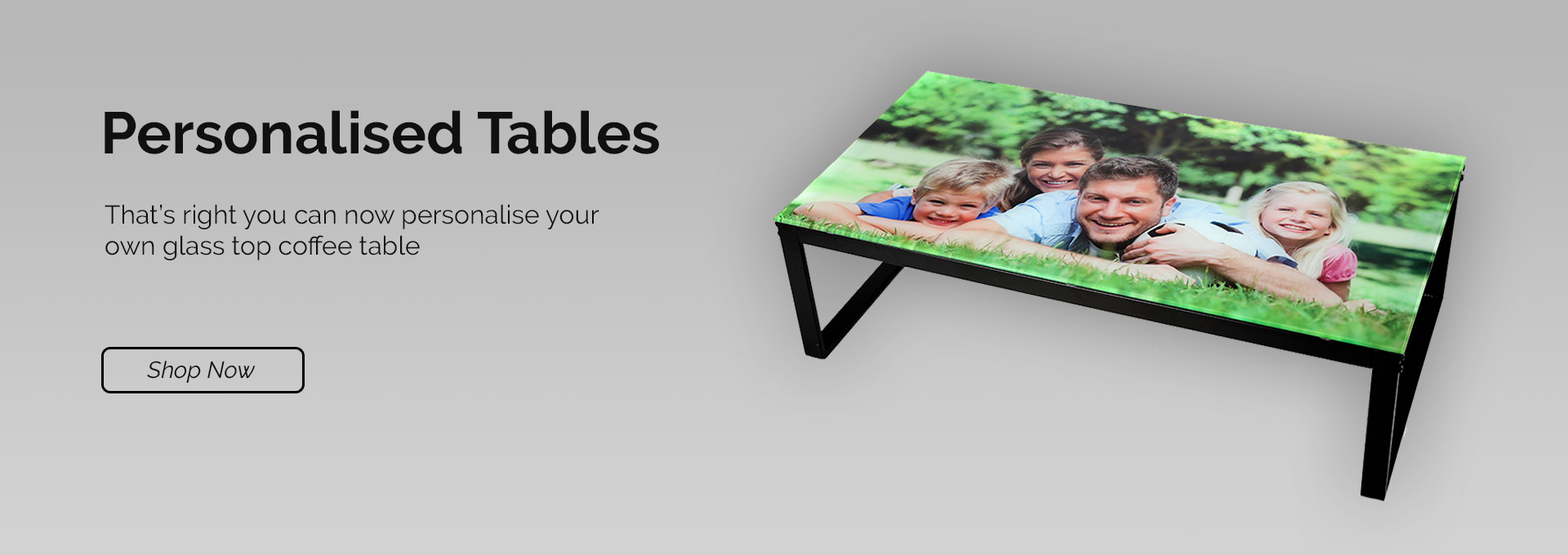 Personalised Tables
